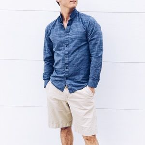 Selected UK Brand Men's Navy Blue Button Down
